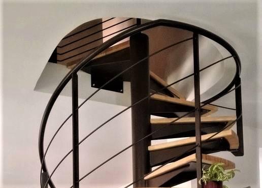 escalier m tal h licoidal ou colima on atelier des. Black Bedroom Furniture Sets. Home Design Ideas