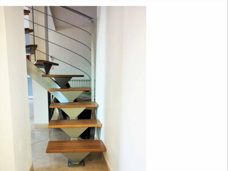 escalier sur mesure en bois et m tal b ziers atelier des escaliers aubaret. Black Bedroom Furniture Sets. Home Design Ideas